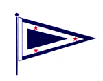 RYC_Burgee_with_Flagpole_75dpi