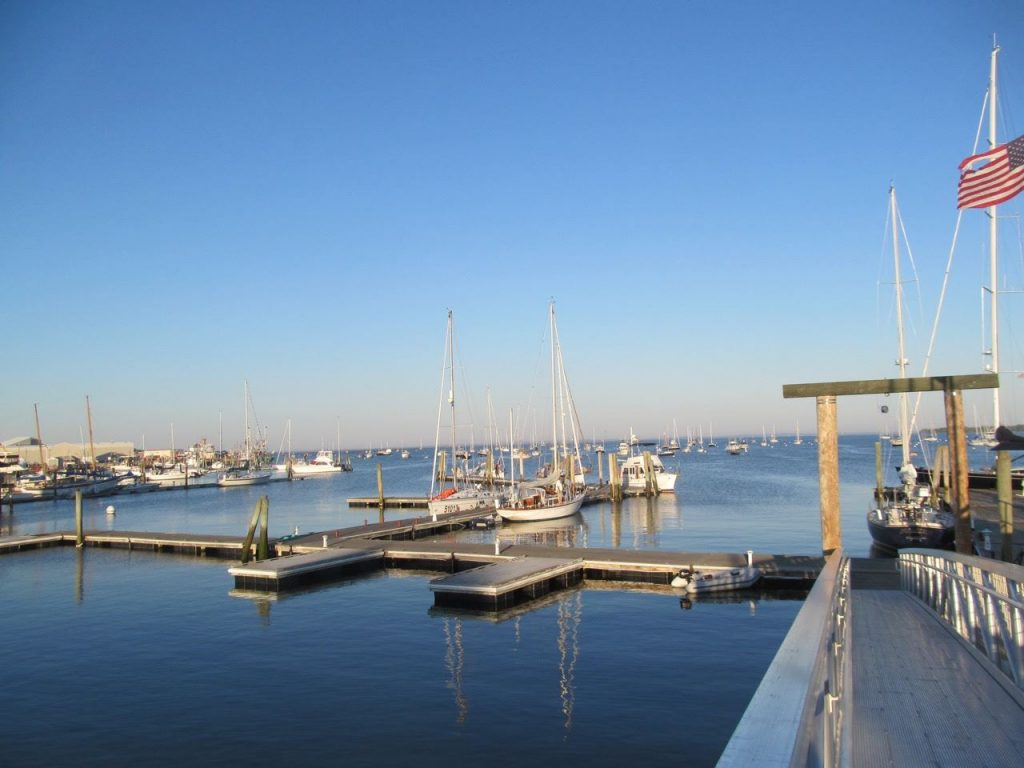 There is ample dockage at the Rockland Public Landing on non-festival weekends and most weeknights
