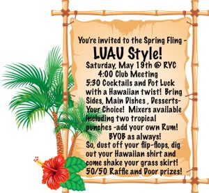 Annual Spring Fling -LUAU Style! @ Rockland | Maine | United States